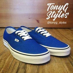 """🔵NEW & RARE🔵 Snorkel Blue VANS """"AUTHENTIC"""" Shoes"""